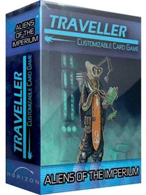 Traveller Card Game: Aliens of Traveller