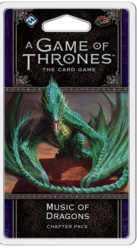 A Game of Thrones the Card Game: Music of Dragons Chapter Pack (2nd Edition)