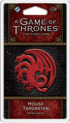 A Game of Thrones the Card Game: House Targaryen Intro Deck (2nd Edition)