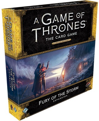 A Game of Thrones LCG (2nd Edition): Fury of the Storm Expansion