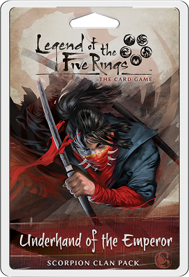 Legend of the Five Rings LCG: Underhand of the Emperor: Scorpion Clan Pack