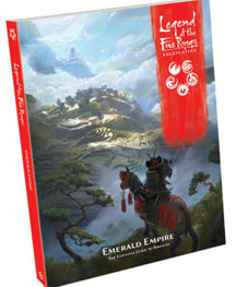 Legend of the Five Rings RPG: Emerald Empire HC - Used