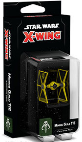 Star Wars: X-Wing 2nd Ed: Mining Guild TIE Expansion Pack