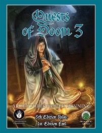 5th Edition Adventures: Quests of Doom 3 - Used