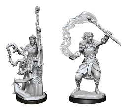 Dungeons and Dragons Nolzurs Marvelous Unpainted Minis Wave 13: Firbolg Female Druid