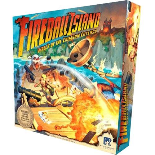 Fireball Island: Wreck of the Crimson Cutlass Board Game