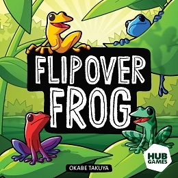 Flip Over Frog Board Game