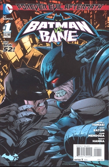Forever Evil Aftermath: Batman Vs Bane (2014)  One Shot - Used
