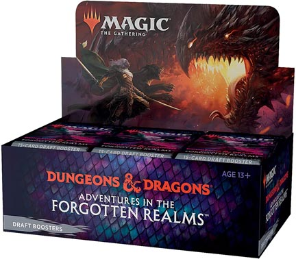 Magic the Gathering: Adventures in the Forgotten Realms: Draft Booster Box (36 packs)