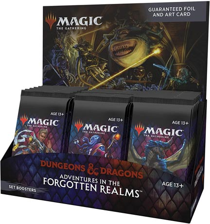 Magic the Gathering: Adventures in the Forgotten Realms: Set Booster Box (30 packs)