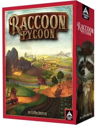 Raccoon Tycoon Board Game