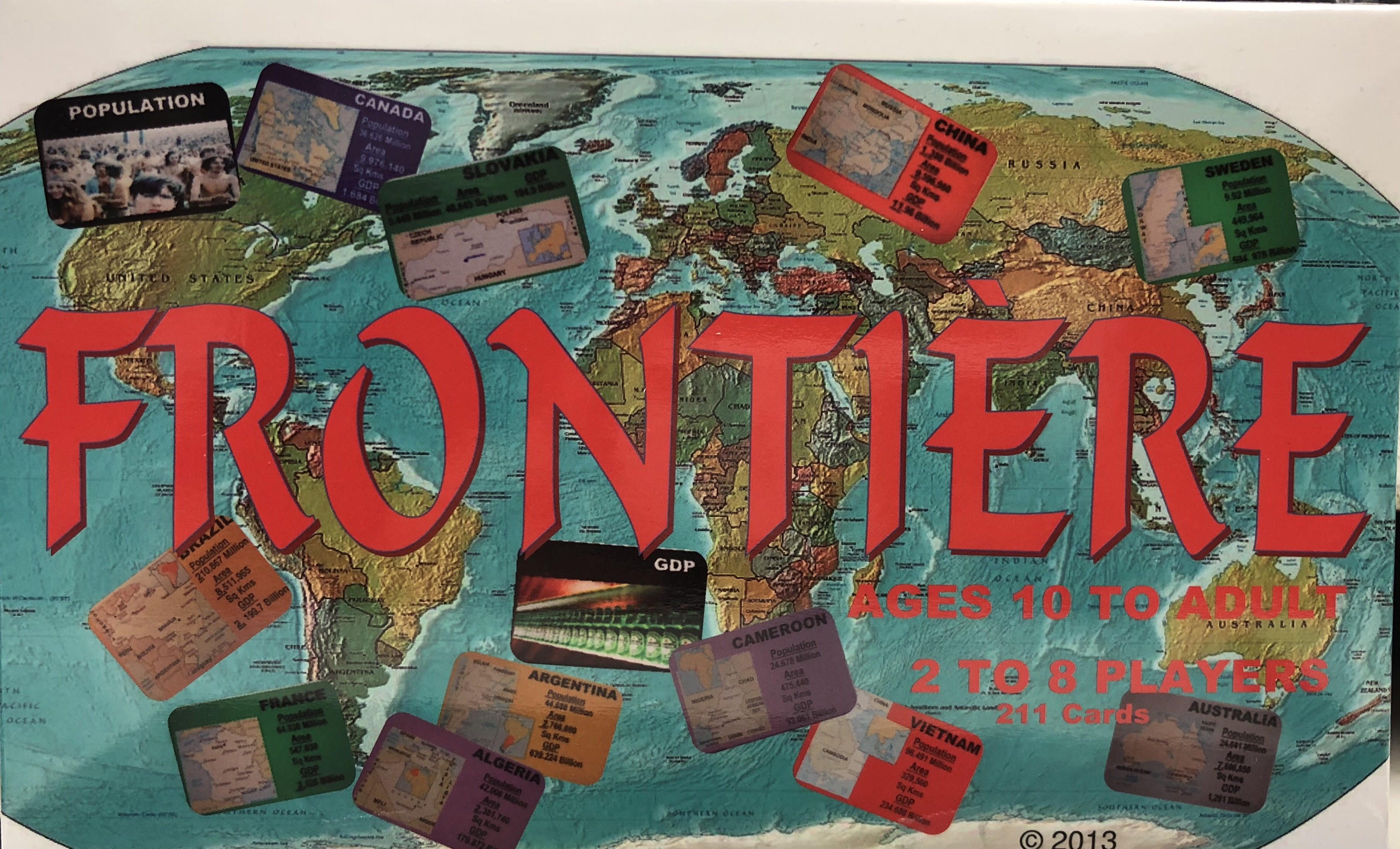 Frontiere Card Game