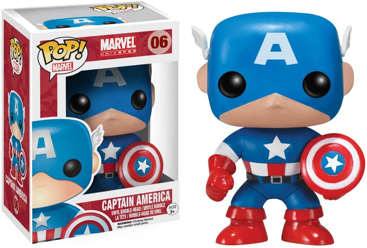 Funko POP: Marvel: Captain America