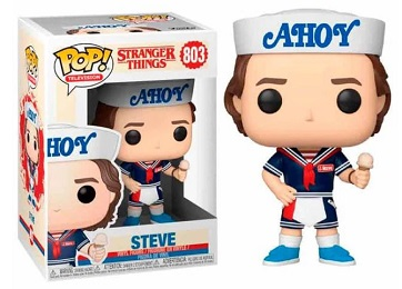 Funko POP: Television: Stranger Things: Steve with Hat and Ice Cream