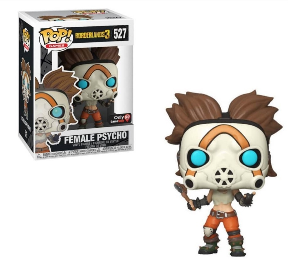Funko POP: Games: Borderlands 3: Female Psycho - Used