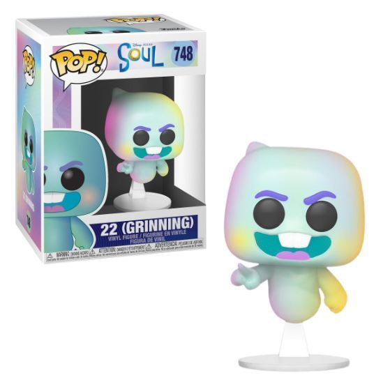 Funko POP: Disney: Soul: 22 (Grinning) - Used