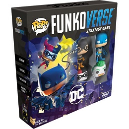 Funkoverse Strategy Game: DC Comics: Base Set