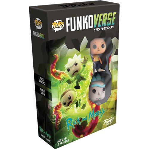 Funkoverse Strategy Game: Rick and Morty: Expandalone