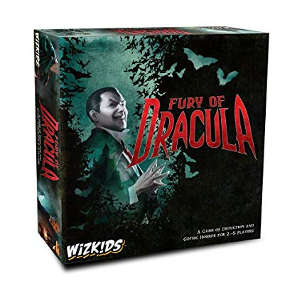 Fury of Dracula Board Game (4th Edition)