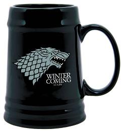 Game of Thrones: Stark Sigil Ceramic Stein
