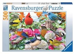 Garden Birds Puzzle - 500 Pieces