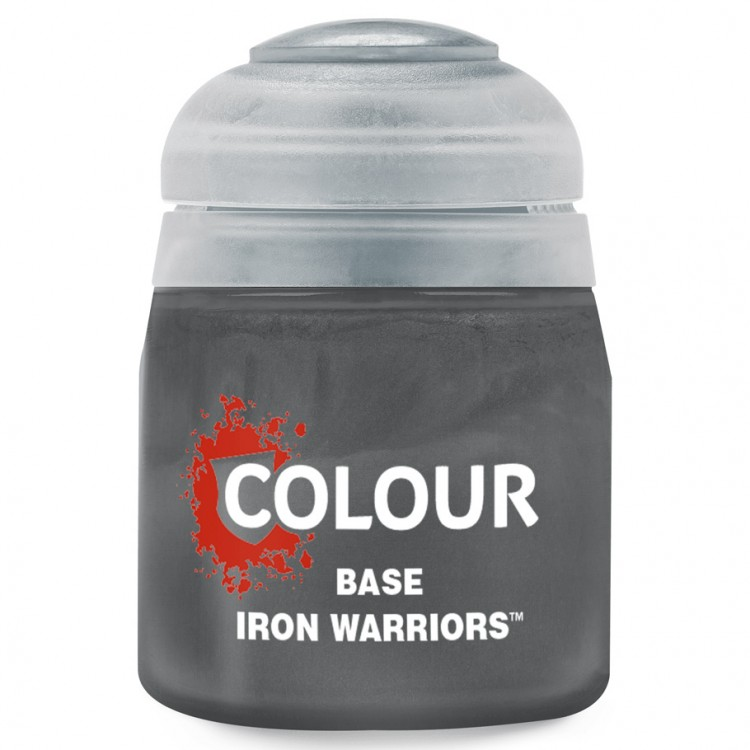 Citadel Base Paint: Iron Warriors 21-48