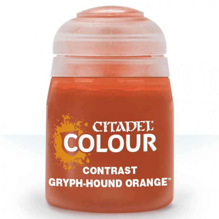Citadel Contrast Paint: Gryph-Hound Orange 29-11
