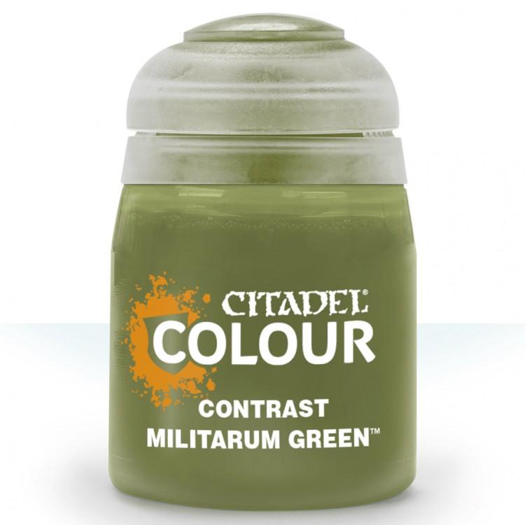 Citadel Contrast Paint: Militarum Green 29-24