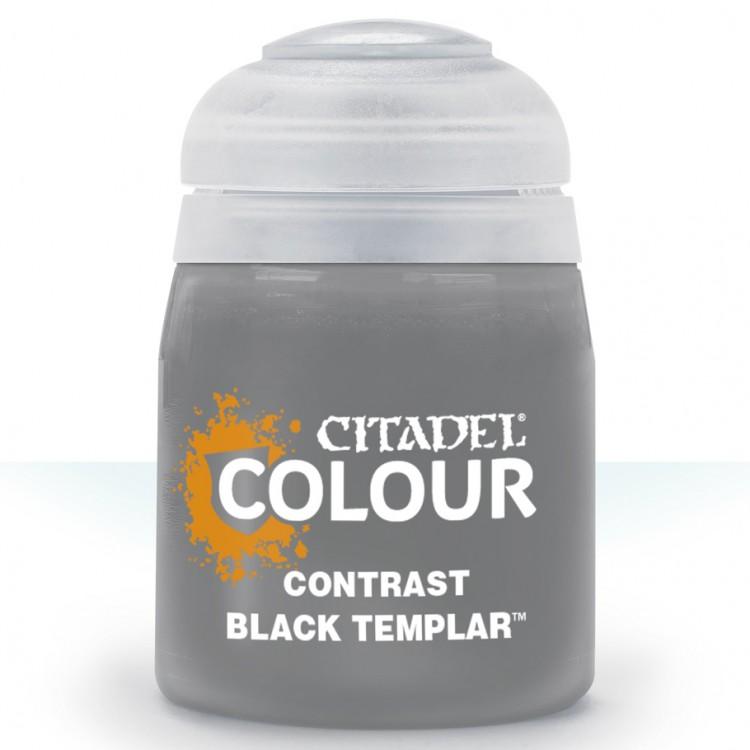 Citadel Contrast Paint: Black Templar 29-38
