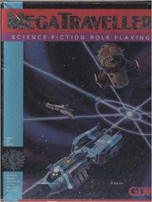 MegaTraveller: Science-Fiction Role Playing Box Set - USED