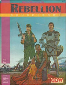Mega Traveller Role Playing: Rebellion Source Book - USED