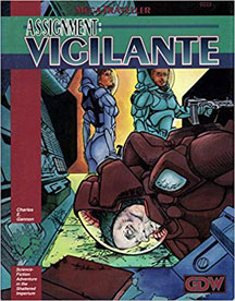 Mega Traveller Role Playing: Assignment: Vigilante - USED
