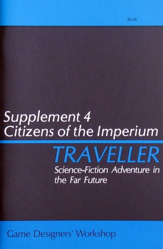 Traveller: Supplement 4: Citizens of the Imperium - Used