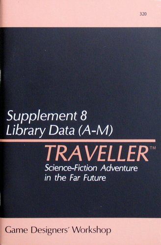 Traveller: Supplement 8: Library Data (A-M) - Used