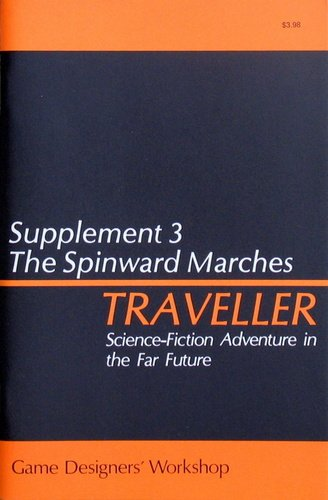 Traveller: Supplement 3: The Spinward Marches - Used