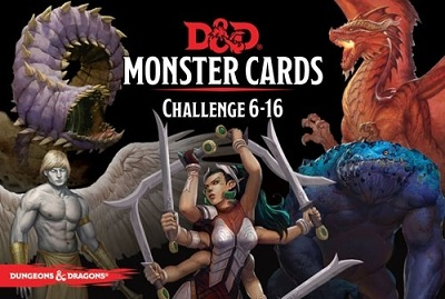 Dungeons and Dragons Monster Cards: Challenge 6-16