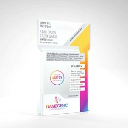 Board Game Sleeves: Standard Card Game Matte (50 Sleeves) (Gray)