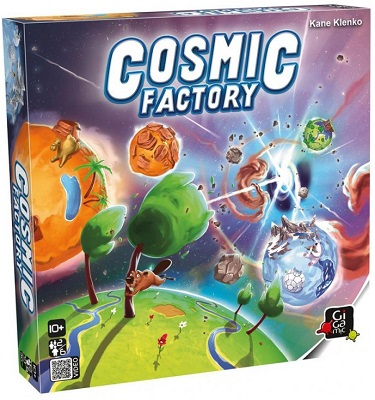 Cosmic Factory Board Game
