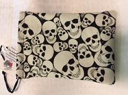 Dice Bag: Glow in the Dark Skulls