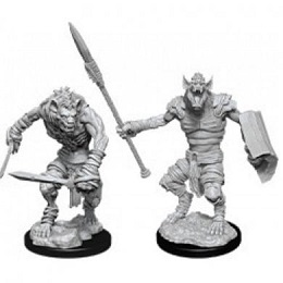Dungeons and Dragons: Nolzur's Marvelous Unpainted Miniatures Wave 12: Gnoll and Gnoll Flesh Gnawer