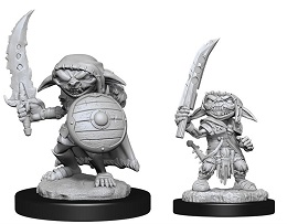 Pathfinder Battles Deep Cuts Unpainted Miniatures Wave 13: Goblin Male Fighter