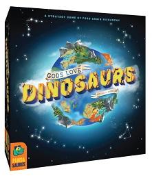 Gods Love Dinosaurs Board Game