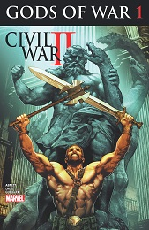 Gods of War 1: Civil War II (2016 Series) Complete Bundle - Used