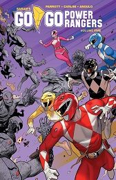 Go Go Power Rangers Volume 5 TP