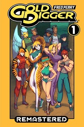 Gold Digger Remastered Omnibus Volume 1 TP