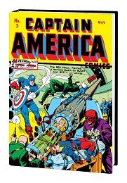 Golden Age Captain American Omnibus Volume 1 HC