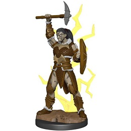 Dungeons and Dragons Fantasy Miniatures: Icons of the Realms Premium Figure: Goliath Female Barbarian