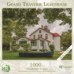 Grand Traverse Lighthouse Puzzle (1000 Pieces)