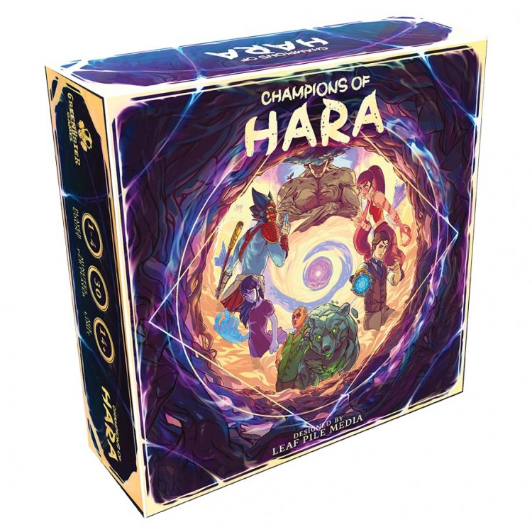 Champions of Hara Board Game