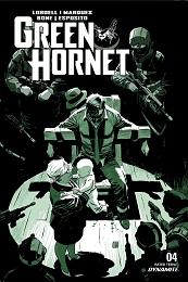 Green Hornet no. 4 (2020 Series) (A Cover)